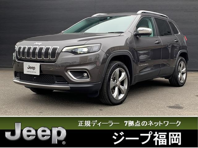 クライスラー・ジープ リミテッド 試乗車UP ナビTV付 白レザー ETC付