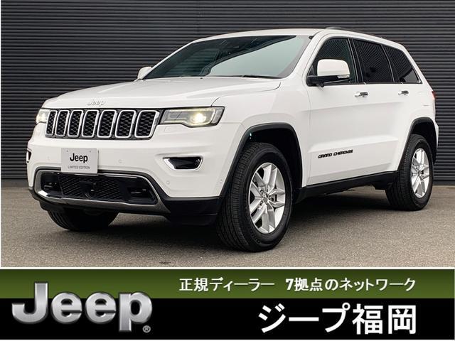 クライスラー・ジープ リミテッド 当社デモカー 新車保証継承 純正ナビTV