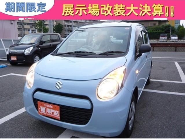 スズキ F 軽自動車 5MT エアコン 4人乗り CD 内外装仕上済