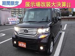 N BOXカスタムG・Lパッケージ ナビ TV 軽自動車 CVT 保証付 AC