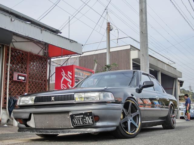 トヨタ GTツインターボ 社外マフラー ローダウン