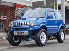 ジムニーXG リフトアップ アルミ キーレス ナビ 5MT 4WD