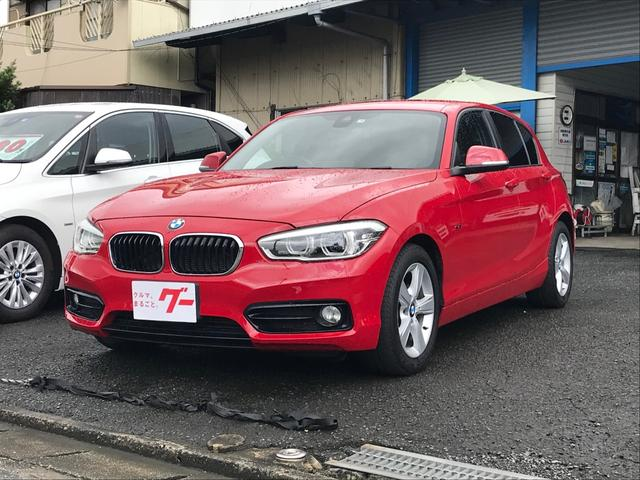 BMW 1シリーズ 118i スポーツ 純正ナビ バックカメラ ETC DVD