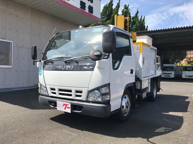 いすゞ 高所作業車 ETC エアコン バックカメラ MT5速 PW