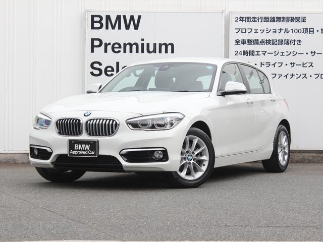 BMW 118d スタイル バックカメラ&センサー 禁煙
