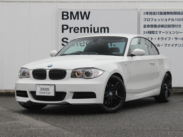 BMW 135i 黒レザー ブラックホイール 社外レーダー