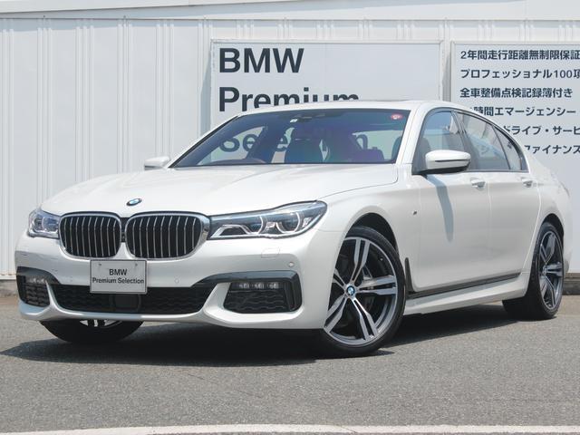 BMW 740i Mスポーツ 弊社デモカー LED ACC AW20