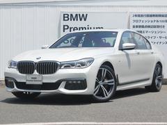 BMW740i Mスポーツ 弊社デモカー LED ACC AW20