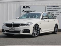 BMW523iツーリング Mスポーツ 弊社デモカー 黒レザー 禁煙