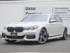 BMW740i Mスポーツ サンルーフ リアエンターテイメント
