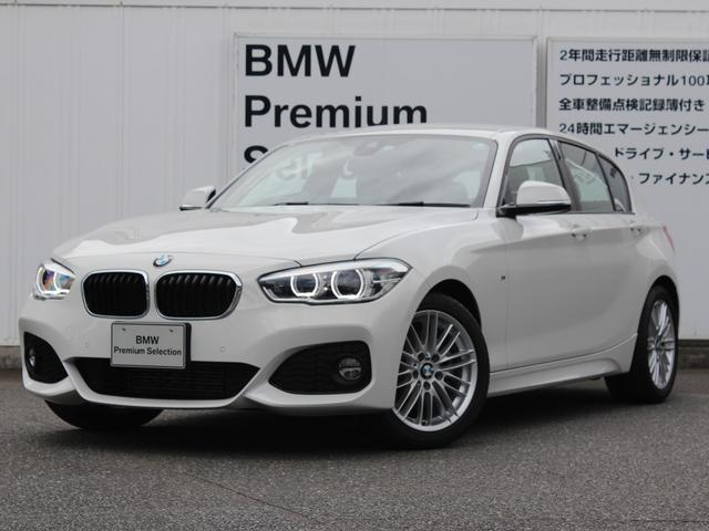 BMW 118d Mスポーツ デモカー LED クルコン Bカメラ