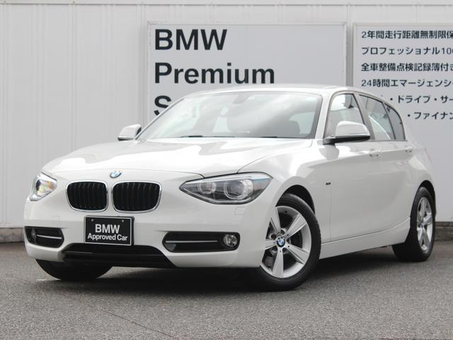 BMW 116i スポーツ ワンオーナー 禁煙 社外ETC