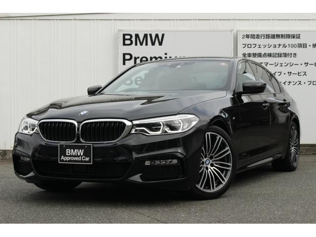 BMW 523d Mスポーツ ハイラインパッケージ ブラックレザー LEDヘッドライト i-Driveナビゲーション バックカメラ フロントカメラ 全方位カメラ 社外全方位ドライブレコーダー USB/Bluetoothオーディオ ディスプレイキー