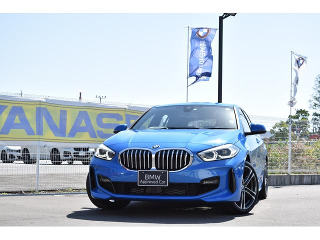 BMW 1シリーズ 118i Mスポーツ ワンオーナー 認定中古車 1年保証付 純正18インチAW 純正ナビ バックカメラ スマートキー 駐車サポート 後退アシスト 追従式クルーズコントロール 電動トランク