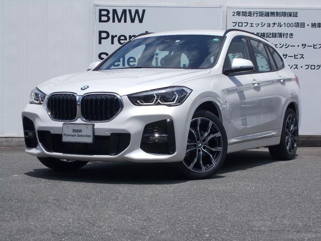 BMW X1 xDrive 18d Mスポーツ 認定中古車 2年保証付 弊社元試乗車 19インチAW パワーシート 純正ナビ バックカメラ 障害物センサー 衝突軽減ブレーキ 車線逸脱警告 追従式クルーズコントロール 電動トランク