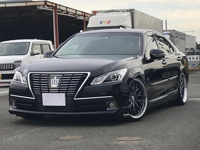 トヨタ ロイヤルサルーン 新品TEIN車高調&20AW HDDナビ