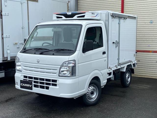 スズキ 低温 冷凍車 50mm仕様 冷蔵 冷凍 2コンプ