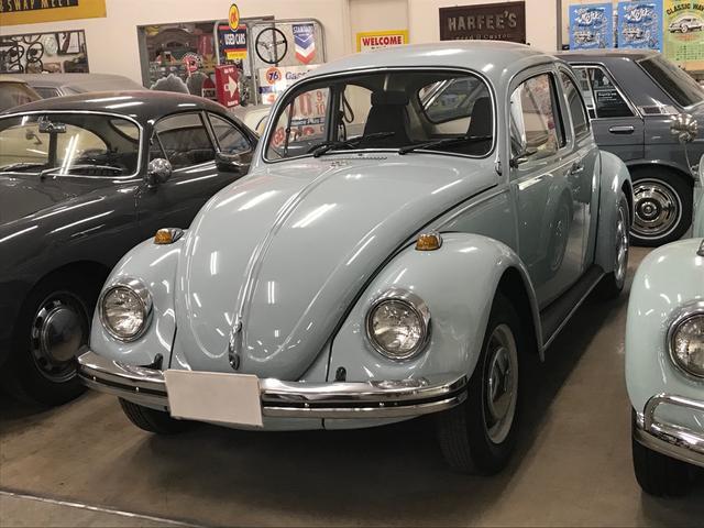 フォルクスワーゲン ビートル 1500 タイプ1 福岡5シングルナンバー オリジナル内装