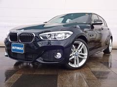 BMW118d Mスポーツ登録済未使用車禁煙車ACC機能付き