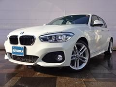 BMW118d Mスポーツ登録済未使用車純正OP18インチアルミ