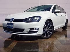 VW ゴルフヴァリアントTSIハイラインブルーモーションテクノロジーディスカバープロ