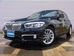 BMW118i スタイル登録済未使用車純正HDDナビBカメラ