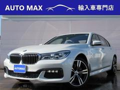 BMW740i Mスポーツ SR 本革 HUD LED デモカー