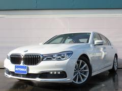 BMW740i ブラウンレザー ドライビングアシスト LEDライト