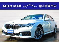 BMW740i Mスポーツ デモカー サンルーフ トップビュー