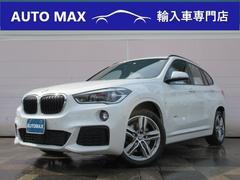 BMW X1xDrive20i Mスポーツ 純正HDDナビ PWバックD