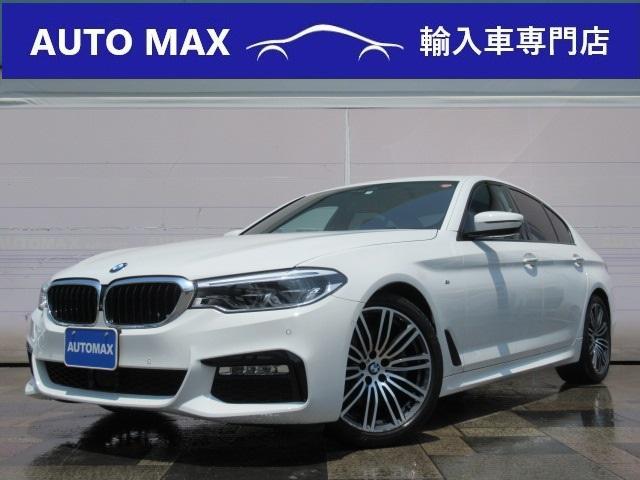 BMW 523d Mスポーツ デビューPKG 1オーナ 本革 HUD