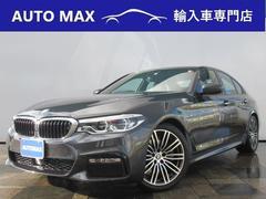 BMW523d Mスポーツ デモカー 純正ナビTV ACC LED