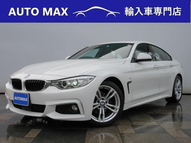 BMW 4シリーズ 420iグランクーペ Mスポーツ 純正HDDナビTV