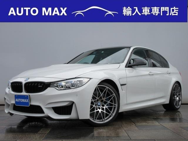 BMW M3 M3 ワンオーナー/禁煙車/コンペディション鍛造20インチアルミ/コンフォートアクセス