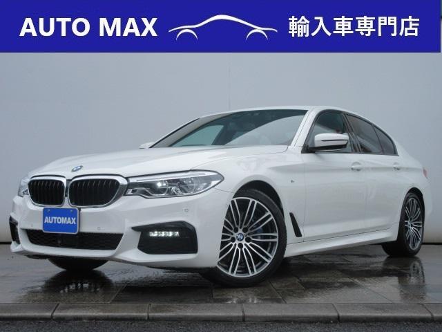 BMW 530i Mスポーツ /1オーナー/純正HDDナビ/360°カメラ/黒レザー/LEDライト/ヘッドアップディスプレイ/アダクティブクルーズコントロール/