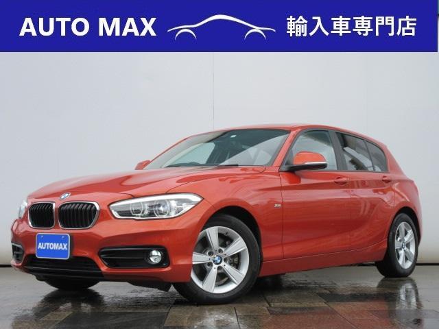 BMW 118d スポーツ /パーキングサポートPKG/サンルーフ/ハーマンカードンサウンド/LEDライト/純正ナビ/バックカメラ/コンフォートアクセス/