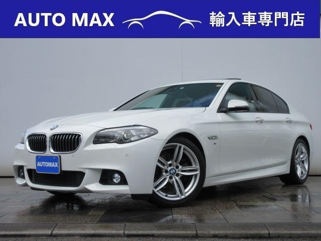 BMW 523i Mスポーツ /サンルーフ/純正HDDナビ/フルセグTV/Bカメラ/キセノン/OP19インチAW/