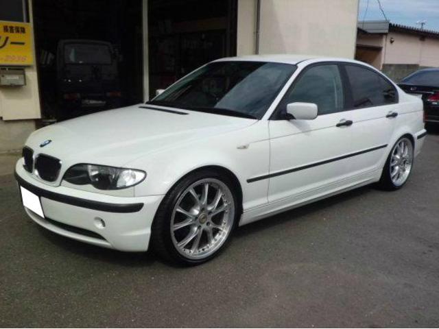 BMW 318iツーリング CD MD ナビ 社外19AW