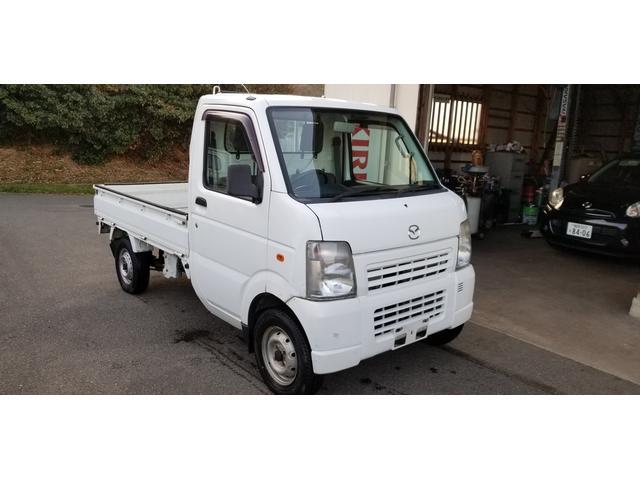 マツダ スクラムトラック ベースグレード 5速マニュアル、4WD Lo-Hi切替 スズキOEM