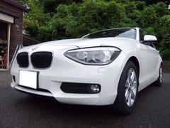 BMW116i 禁煙 純正iDriveナビ Bカメラ