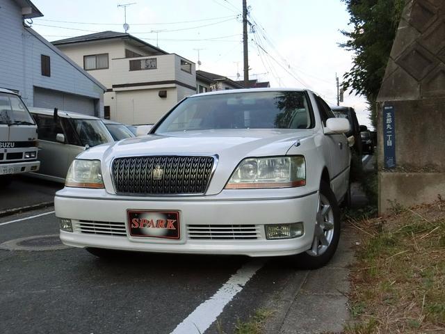 トヨタ 4.0Cタイプ HID パワーシート ナビ 純正アルミ