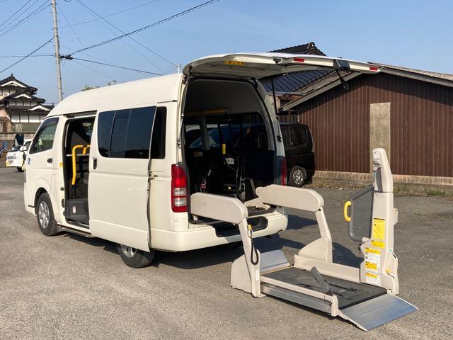 トヨタ  ウェルキャブ Bタイプ ロング 福祉車両  車椅子1台 キーレス/バックモニター/イージークローザードア