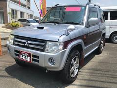パジェロミニエクシード 軽自動車 4WD シルバー AT AC AW