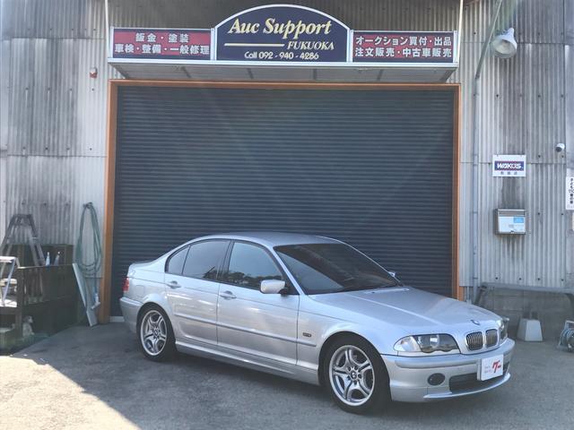 BMW 328i 純正エアロ 純正アルミ