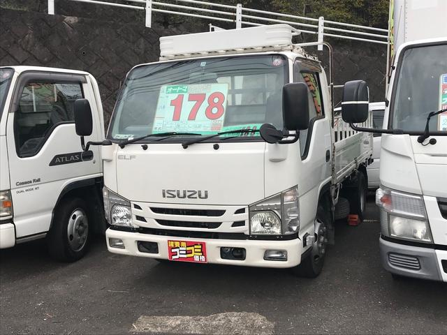 いすゞ エルフトラック  2トン車 ディーゼル ロック車 6速オートマ