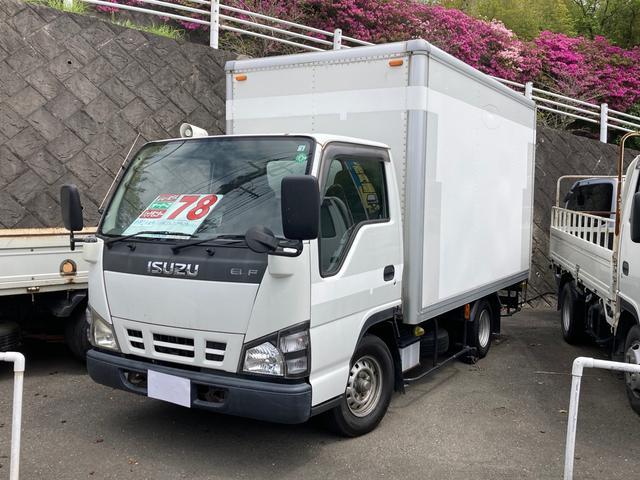 いすゞ エルフトラック  パネルバン 1.45トン積 ディーゼル オートマ バックモニター