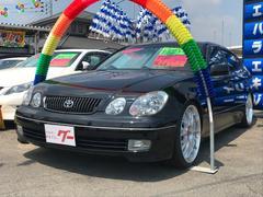アリストV300 生誕10周年記念特別仕様車 黒革 ウッドコンビH