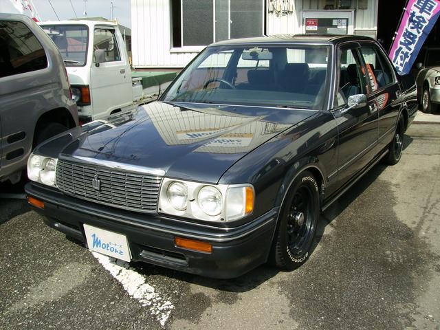 トヨタ スーパーサルーンエクストラ 丸目4灯キーレスHID