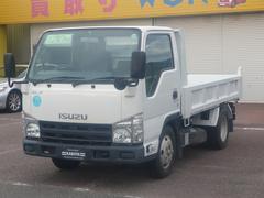 エルフトラック強化フルフラットローダンプ3t4ナンバー車
