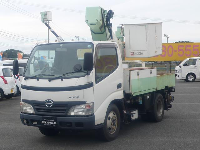 日野 高所作業車